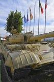 Behållare T-55 av irakisk krigsmakt Royaltyfria Foton