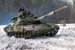 Behållare T-64BM Bulat Arkivbild