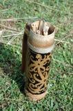 behållareindonesia kalimantan traditionellt stam- Royaltyfri Foto