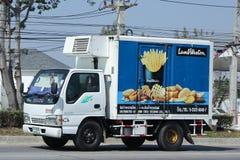 Behållarelastbil av KCG Kim Chua Group Arkivfoton