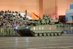 Behållaren för T-14 Armata Arkivbilder