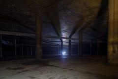 Behållaren för underjordiskt vatten arkivfoto