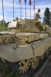 Behållaren T-55 av irakisk krigsmakt Arkivfoton
