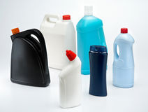 behållareplast- Royaltyfria Foton