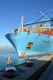 Behållareskepp Maren Maersk Arkivbilder