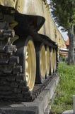 Behållarespåren av Ten-55 Royaltyfria Bilder