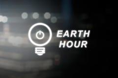 Behaga vänder av din elektriska utrustning för 60 minuter Royaltyfri Fotografi
