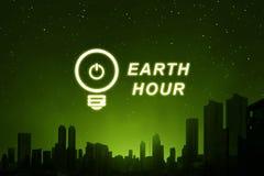 Behaga vänder av din elektriska utrustning för 60 minuter Royaltyfria Bilder