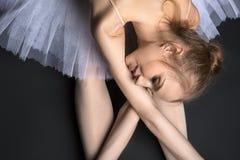 Behagfull Ballerina Arkivfoto