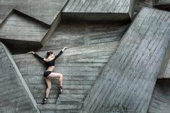 Behagfull Ballerina Royaltyfri Foto