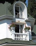 behagfullt hus Arkivbilder