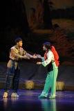 Behandel elke andere Jiangxi-opera een weeghaak Royalty-vrije Stock Foto
