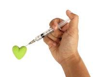 Behandel hartkwaal Stock Afbeelding