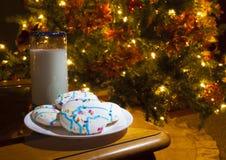 Behandel voor Kerstman Royalty-vrije Stock Afbeelding