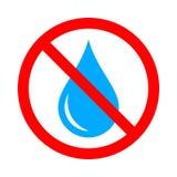 Behandel water vector illustratie