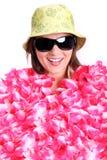 Behandeld met bloemen Royalty-vrije Stock Afbeelding