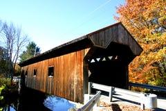 Behandelde brug in de Herfst Stock Foto's