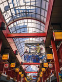 Behandelde het winkelen arcade, Tokyo Stock Afbeeldingen