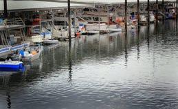 Behandelde Jachthaven royalty-vrije stock afbeelding