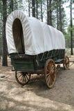 Behandelde wagen royalty-vrije stock afbeeldingen