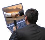 Behandelende software stock afbeelding