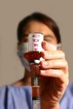Behandeling-alle injectie Stock Afbeeldingen