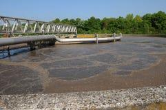 Behandeling van afvalwater Stock Foto's
