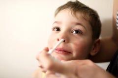 Behandeling van kindkoude Royalty-vrije Stock Fotografie