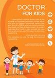 Behandeln Sie Frau und nettes Kinderhintergrundplakatporträt Stockbilder