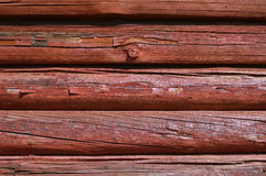 Behandelter Bauholzschutzanstrich Lizenzfreies Stockfoto