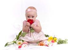 behandla som ett barn Royaltyfri Foto