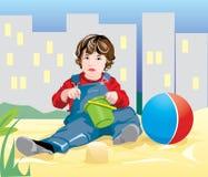 behandla som ett barn vektor illustrationer