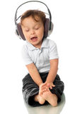 behandla som ett barn allsången Arkivbild