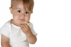 behandla som ett barn att äta för pojke arkivfoton
