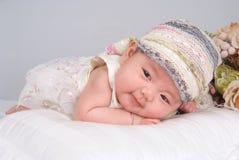 behandla som ett barn att le royaltyfri foto
