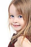 behandla som ett barn att le för flicka Royaltyfri Bild