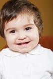 behandla som ett barn att le för flicka Royaltyfri Fotografi