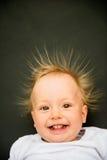 behandla som ett barn att le för stående Royaltyfria Bilder