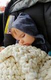 behandla som ett barn att sova Royaltyfri Fotografi