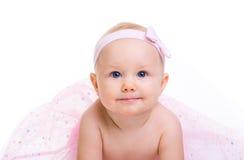 behandla som ett barn ballerinaen royaltyfria foton
