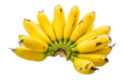 Behandla som ett barn bananen Arkivbilder