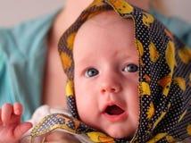behandla som ett barn bandanaen Fotografering för Bildbyråer