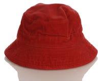 behandla som ett barn begynna red för hatten Arkivbild