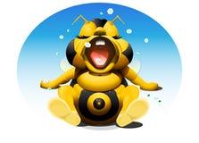 Behandla som ett barn biet Arkivfoton