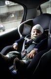 behandla som ett barn bilsätet Royaltyfria Foton