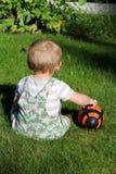behandla som ett barn bollen Royaltyfri Fotografi