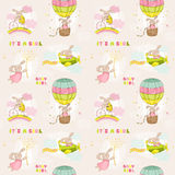 Behandla som ett barn Bunny Background Royaltyfri Bild