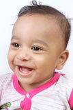 behandla som ett barn den gladlynt gulliga indier Royaltyfria Bilder