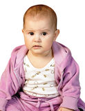 behandla som ett barn den gulliga flickan Royaltyfri Foto