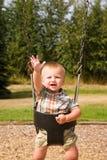 behandla som ett barn den gulliga pojken Royaltyfri Foto